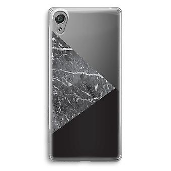 Sony Xperia XA1 Transparent Case - Marble combination