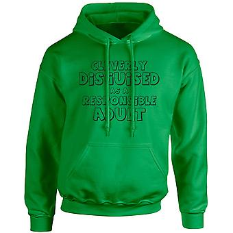 Cleverly Disguised As A Human Being Unisex Hoodie 10 Colours (S-5XL) by swagwear