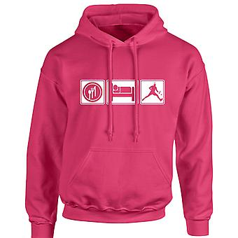 Eat Sleep Tennis Unisex Hoodie 10 Colours (S-5XL) by swagwear