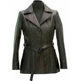 Gage Womens Leather Coat