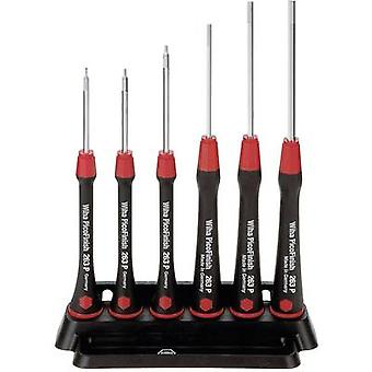 Electrical & precision engineering Screwdriver set 6-piece Wiha PicoFinish 263P K6 Allen