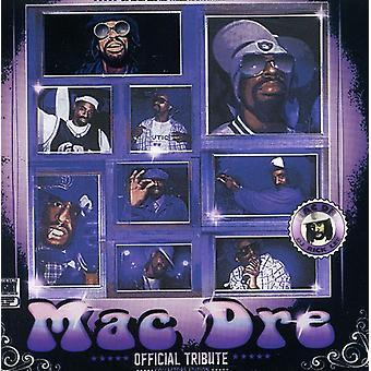 Mac Dre - DJ Rick Lee/Mac Dre hyldest [CD] USA importerer