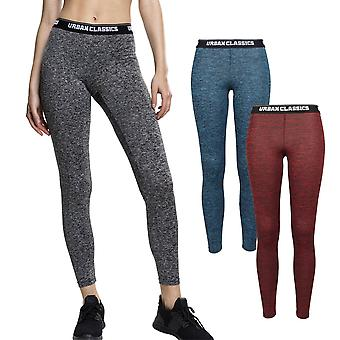Urban classics ladies - Activ melange Fitness Sports leggings