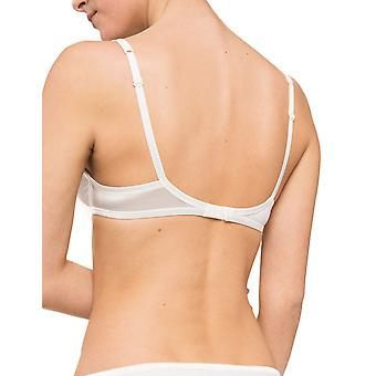 Maison Lejaby 5513-801 Women's New Nuage Pur Lily White Moulded Full Cup Bra