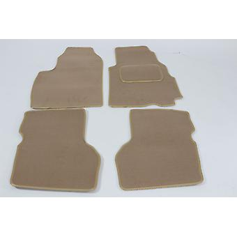 Fully Tailored Car Floor Mats For Hyundai ATOS 1998-2018 Beige