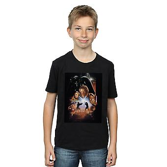 Star Wars jungen Episode III Movie Poster T-Shirt