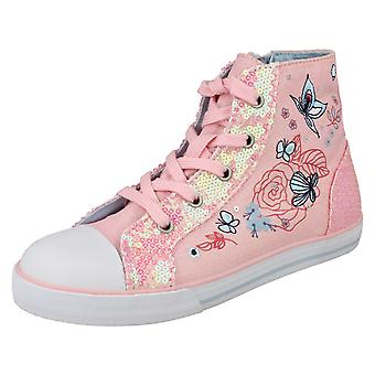 Girls Startrite Casual Canvas Boots Como