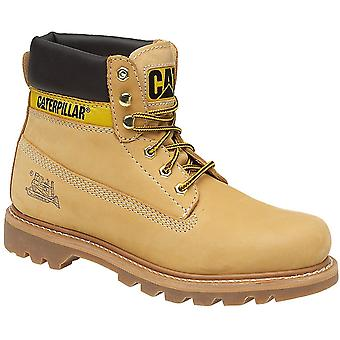 Caterpillar Mens Colorado Non Safety Lace Up Leather Boots Brown