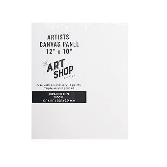 """Art Shop Skipton konstnärerna Canvas Panel 12 x 10 """""""