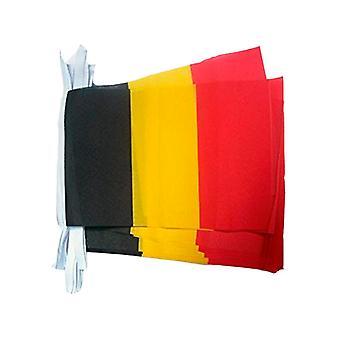 Girlande 6m 20 Flagge Belgien
