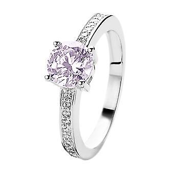 Orphelia Silber 925 Ring lila Zirkon ZR-7029