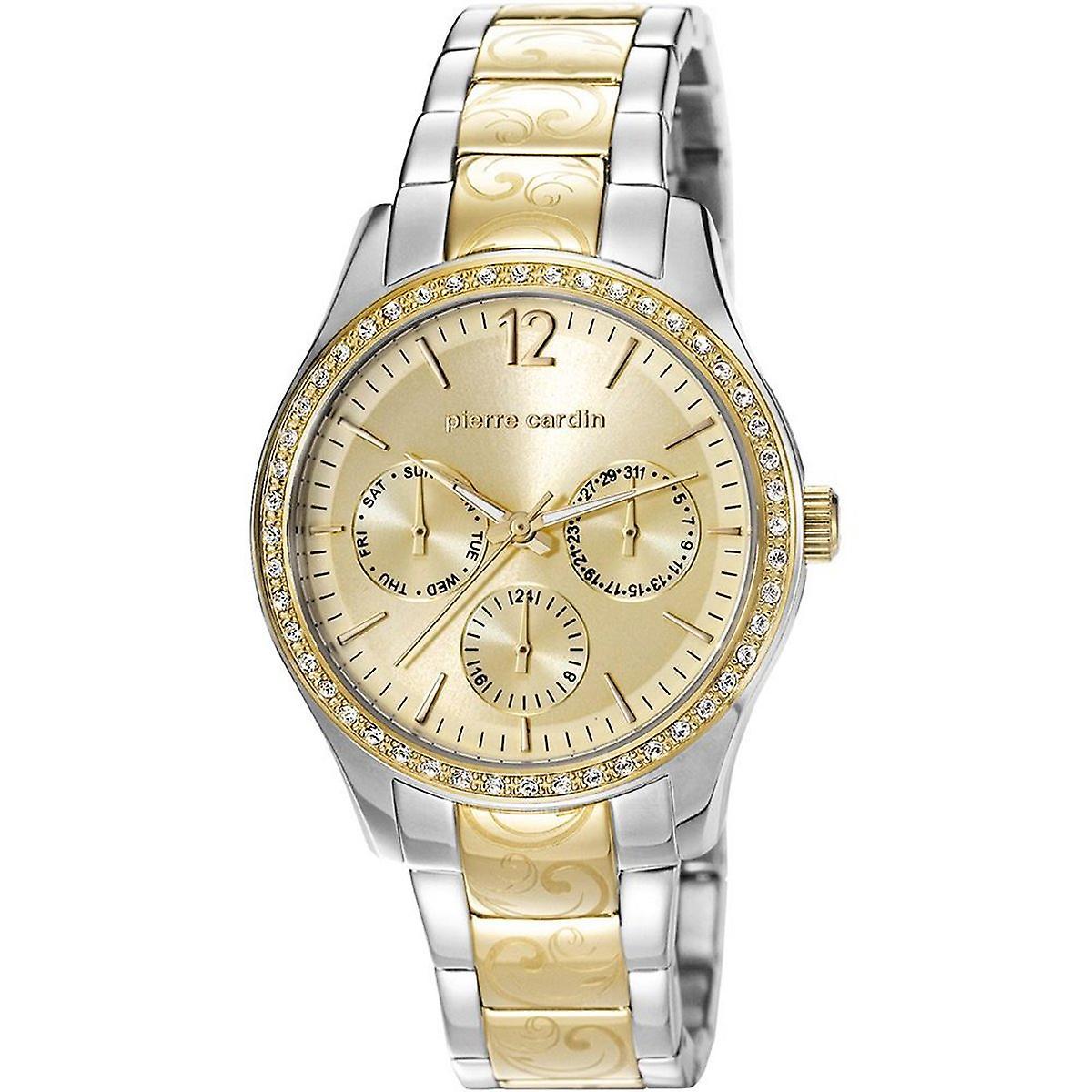 Pierre Cardin Damen Uhr Armbanduhr Edelstahl PC106952F05