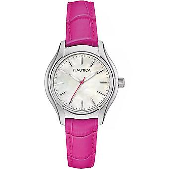Nautica ladies watch bracelet watch NAI11010M leather