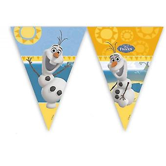 Pennant Garland de Coquette OLAF Frozenparty Kids Birthday 2 m