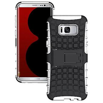 Pezzo di ibrido caso 2 il bianco all'aperto SWL per Samsung Galaxy S8 plus G955 G955F