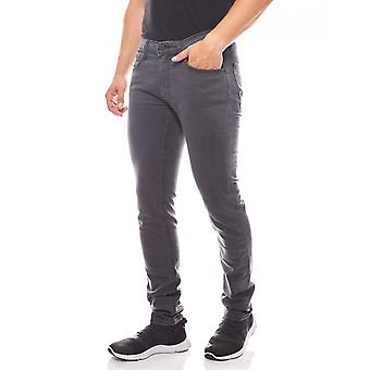 Slim tapered jeans men's Lee Luke gray