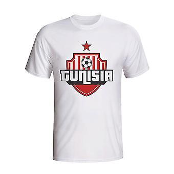 Tunesië land Logo T-shirt (wit)