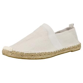 Boys Spot On Flat Elastic Espadrille with Tab Heel
