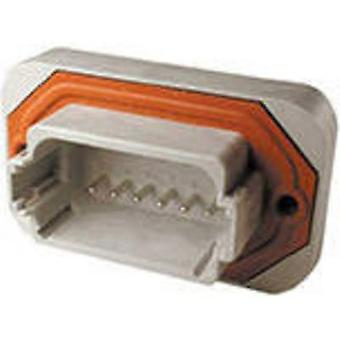 TE Connectivity DT15-12PA Bullet connector Plug, straight Series (connectors): DT Total number of pins: 12 1 pc(s)