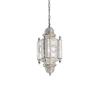 Lux idealne Nawa-2 srebrny orientalne indyjskie latarnia wisiorek