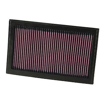 K&N 33-2207 High Performance Replacement Air Filter
