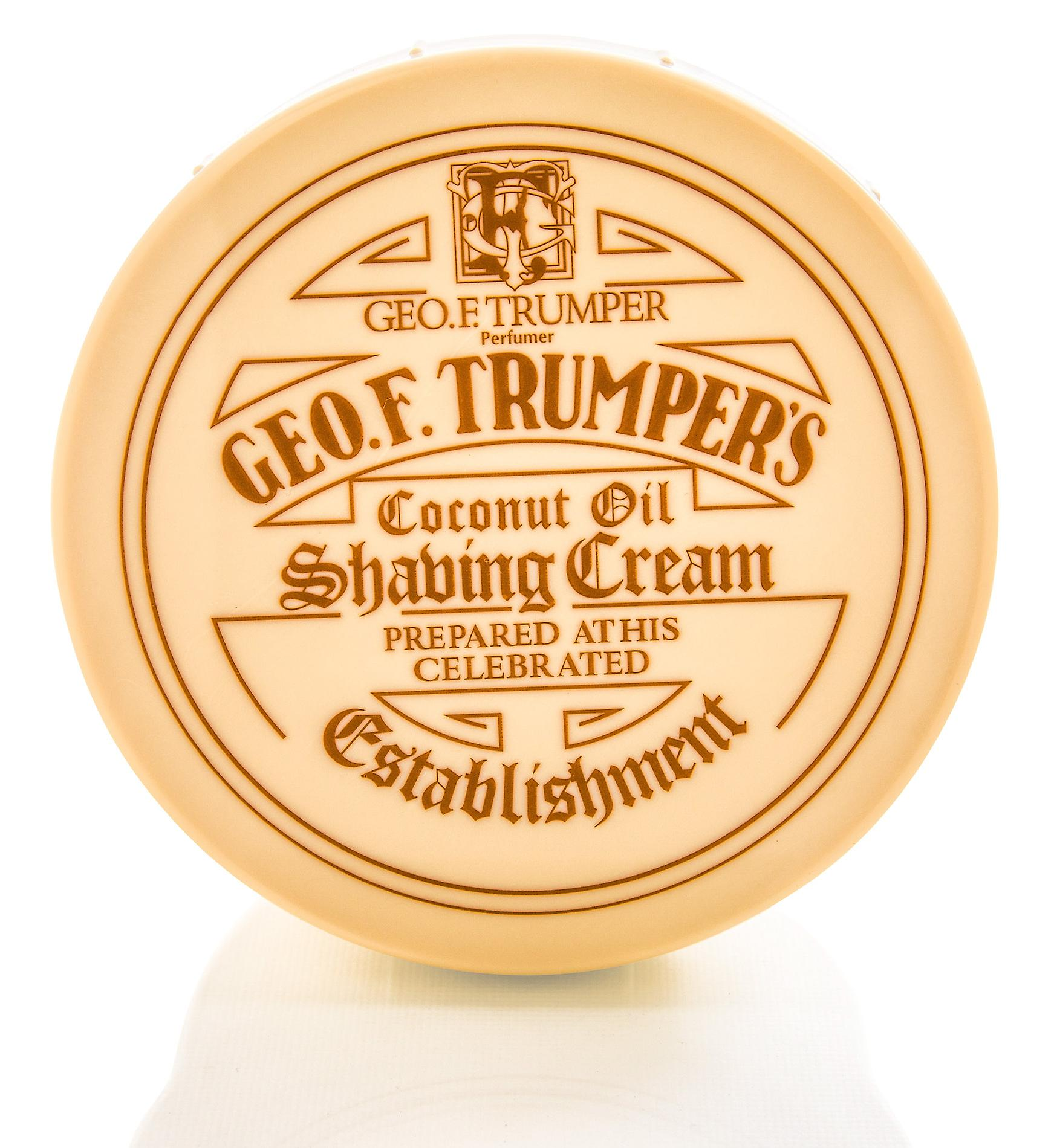 Geo F Trumper Coconut Oil Soft Shaving Soap Pot - 200g