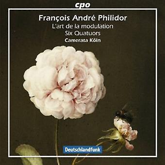 Francois Andre Philidor - Fran Ois Andr  Philidor: L'Art De La Modulation (Six Quatuors) [CD] USA import