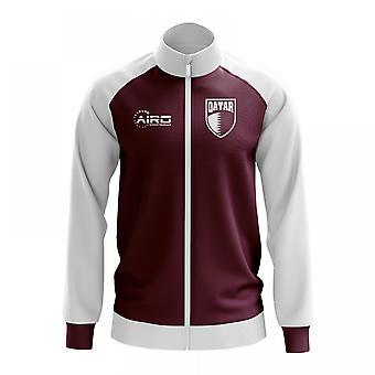 Qatar Concept Football Track Jacket (Burgundy)