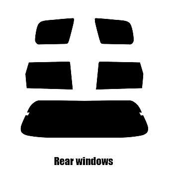 Pre cut window tint - Honda Shuttle - 1997 to 2007 - Rear windows