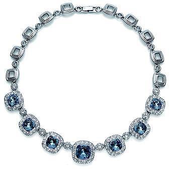 Oliver Weber Collier Autentic Rhodium Crystal