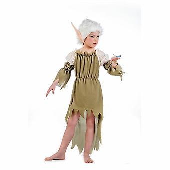 Hadas de traje de Elf Elf selva hadas troll traje de niño