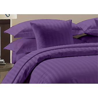 1000 Tc - 100 % Baumwolle Streifen Bettlaken Set-lila