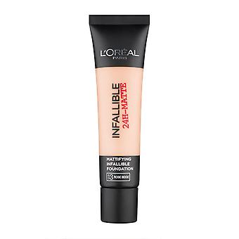 Loreal onfeilbaar 24u Math Stichting 13 Rose Beige 35 ml