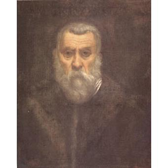 Self Portrait, TINTORETTO, Jacopo, 50x40cm