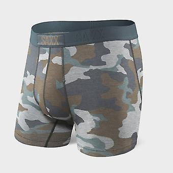 New SAXX Men's Vibe Comfort Fit Innerwear Boxer Short CAMOUFLAGE