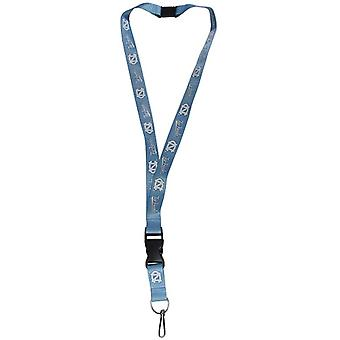 North Carolina Tar Heels NCAA Logo Lanyard