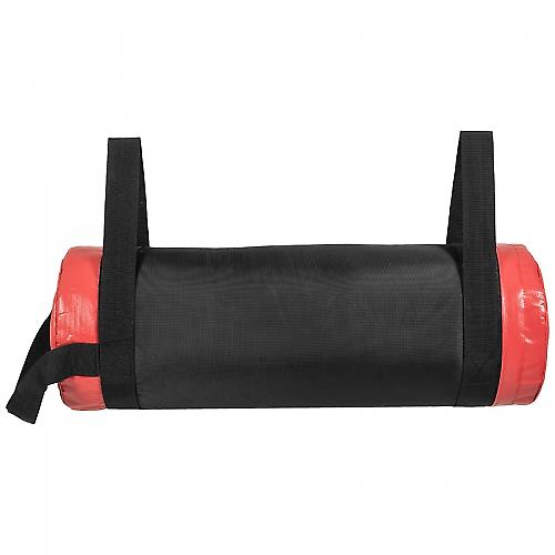 Fitness bag noir/rouge - Sac lest� 25kg