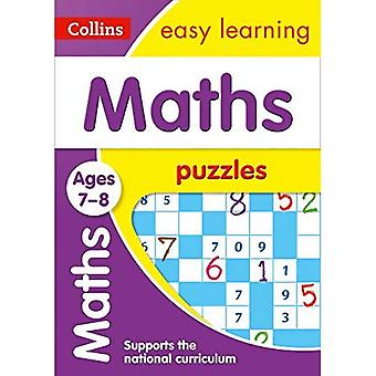 Maths Puzzles Ages 7-8 (Collins Easy Learning KS2)