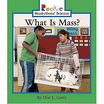 Vad är massa? (Rookie läsa-om vetenskap)
