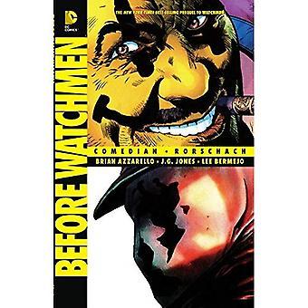 Antes de Watchmen: Comediante / TP de Rorschach