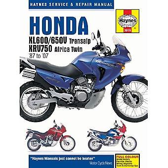 Honda XL600/650 motorfiets reparatie handleiding