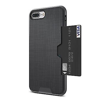 Kisscase Samsung Galaxy S8, With Slot Black