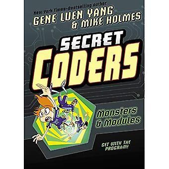 Secret Coders: Monsters & Modules (Secret Coders)