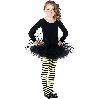 Tutu Flocked Polka Dots Cld Bk