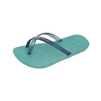 Ipanema Mix Kids Girls Flip Flops / Sandals - Turquoise and Navy