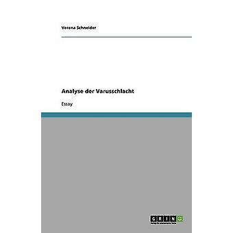 Analizar Der Varusschlacht por Schneider y Verena