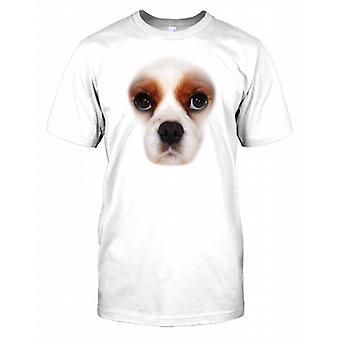 Cavalier King Charles Spaniel Pedigree Dog Face Kids T Shirt