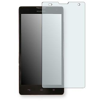 Huawei Ascend G740 screen protector - Golebo crystal clear protection film