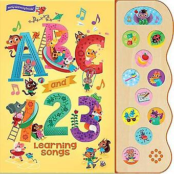 ABC and 123 Learning Songs by Beatrice Costamagna - 9781680521474 Book
