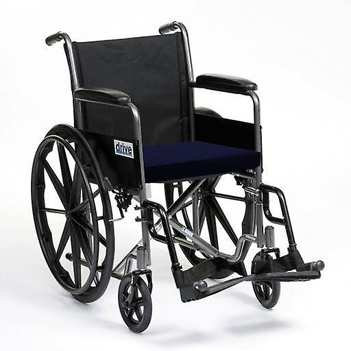 Schaulustige Rollstuhl Seat Kissen in Cotton Cover-Navy